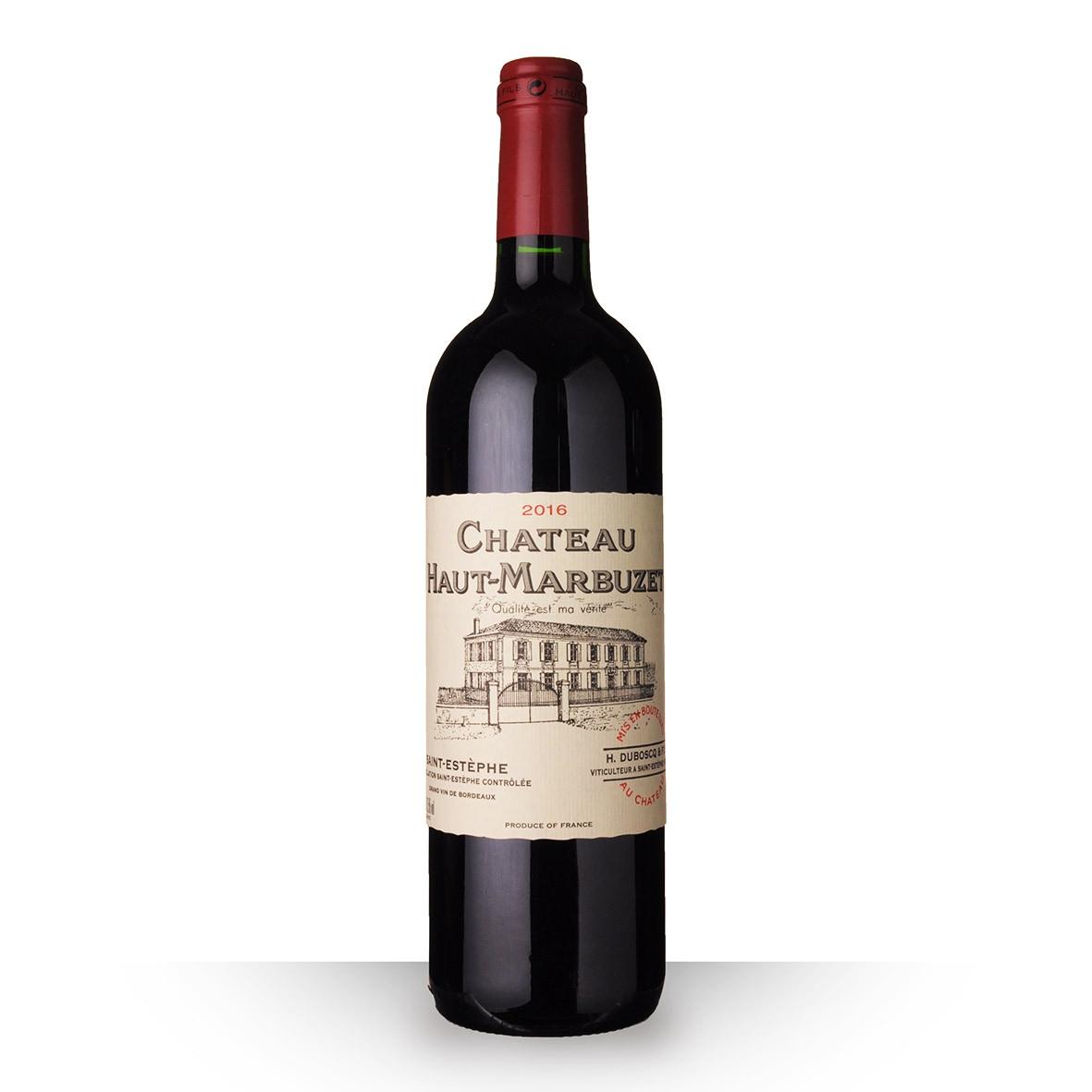 Château Haut-Marbuzet Saint-Estèphe Rouge 2016 75cl www.odyssee-vins.com