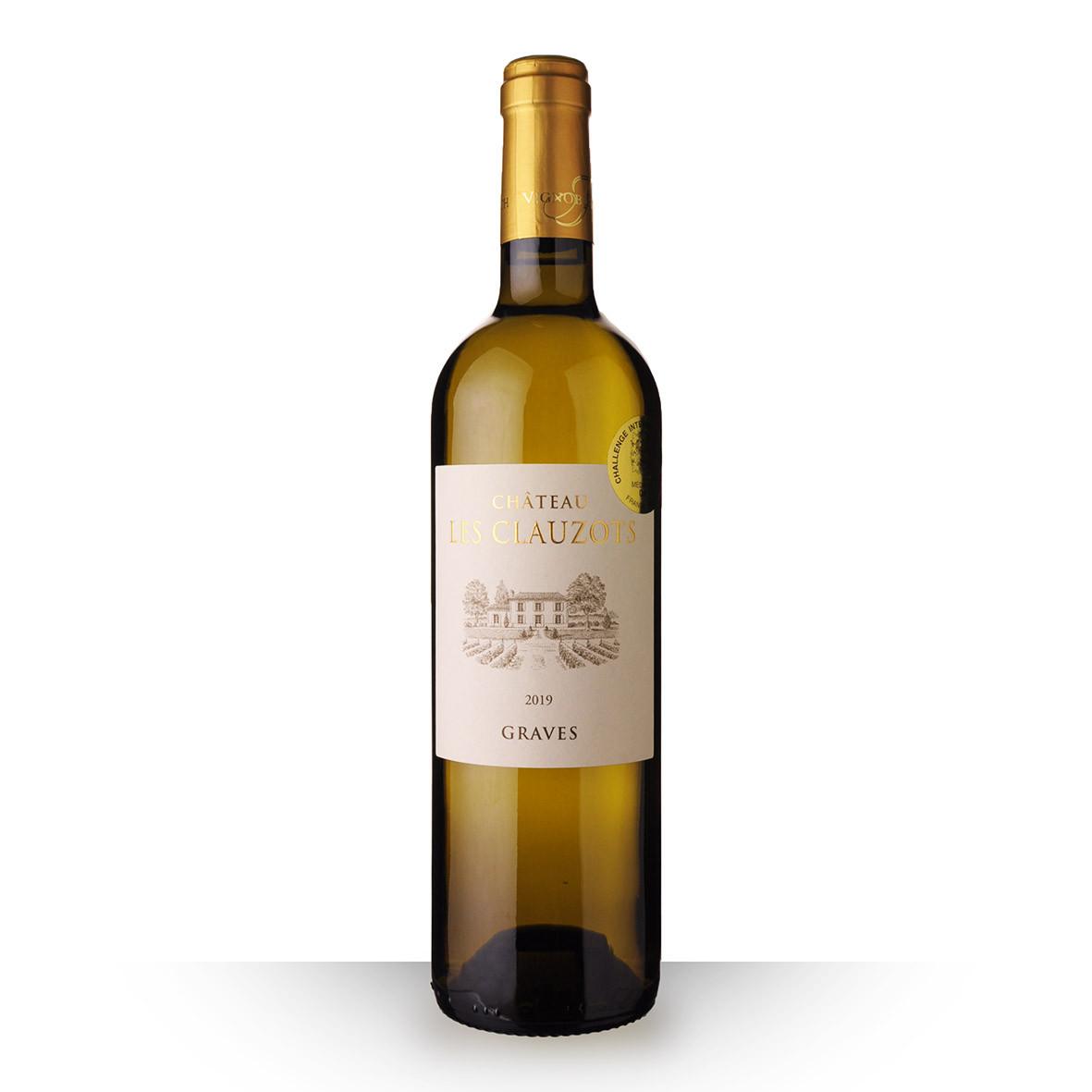 Château les Clauzots Graves Blanc 2019 75cl www.odyssee-vins.com
