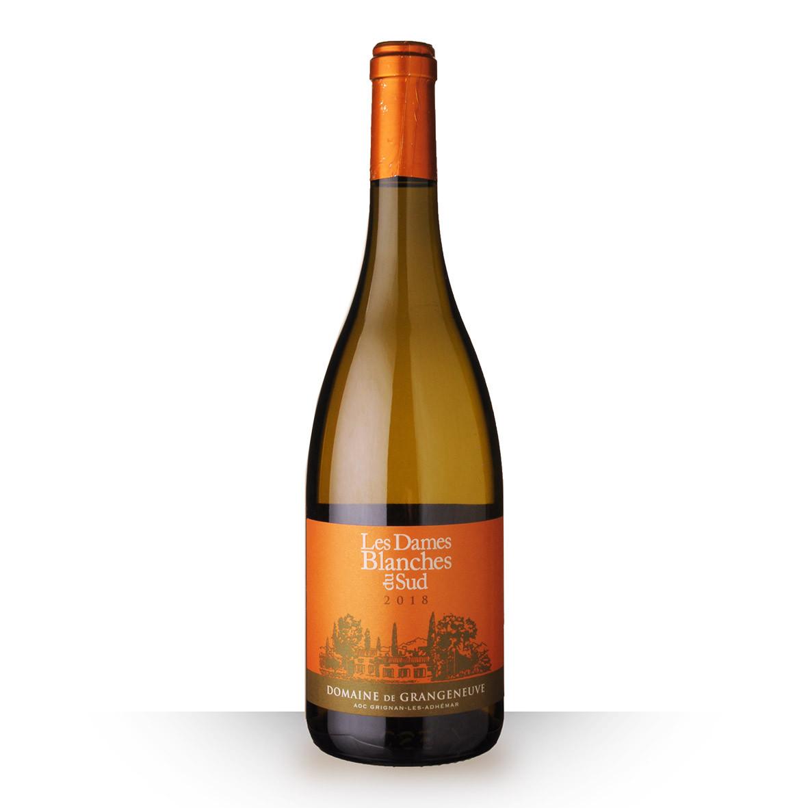 Domaine de Grangeneuve Dames Blanches Grignan-Les-Adhémar Blanc 2018 75cl www.odyssee-vins.com