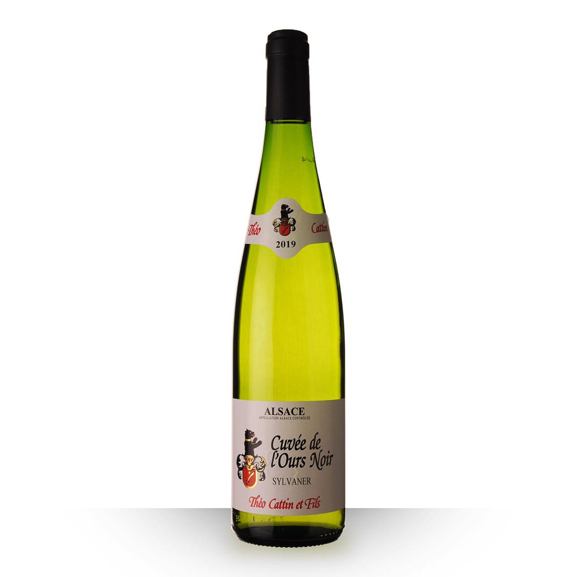 Théo Cattin Cuvée de lOurs Noir Alsace Sylvaner Blanc 2019 75cl www.odyssee-vins.com