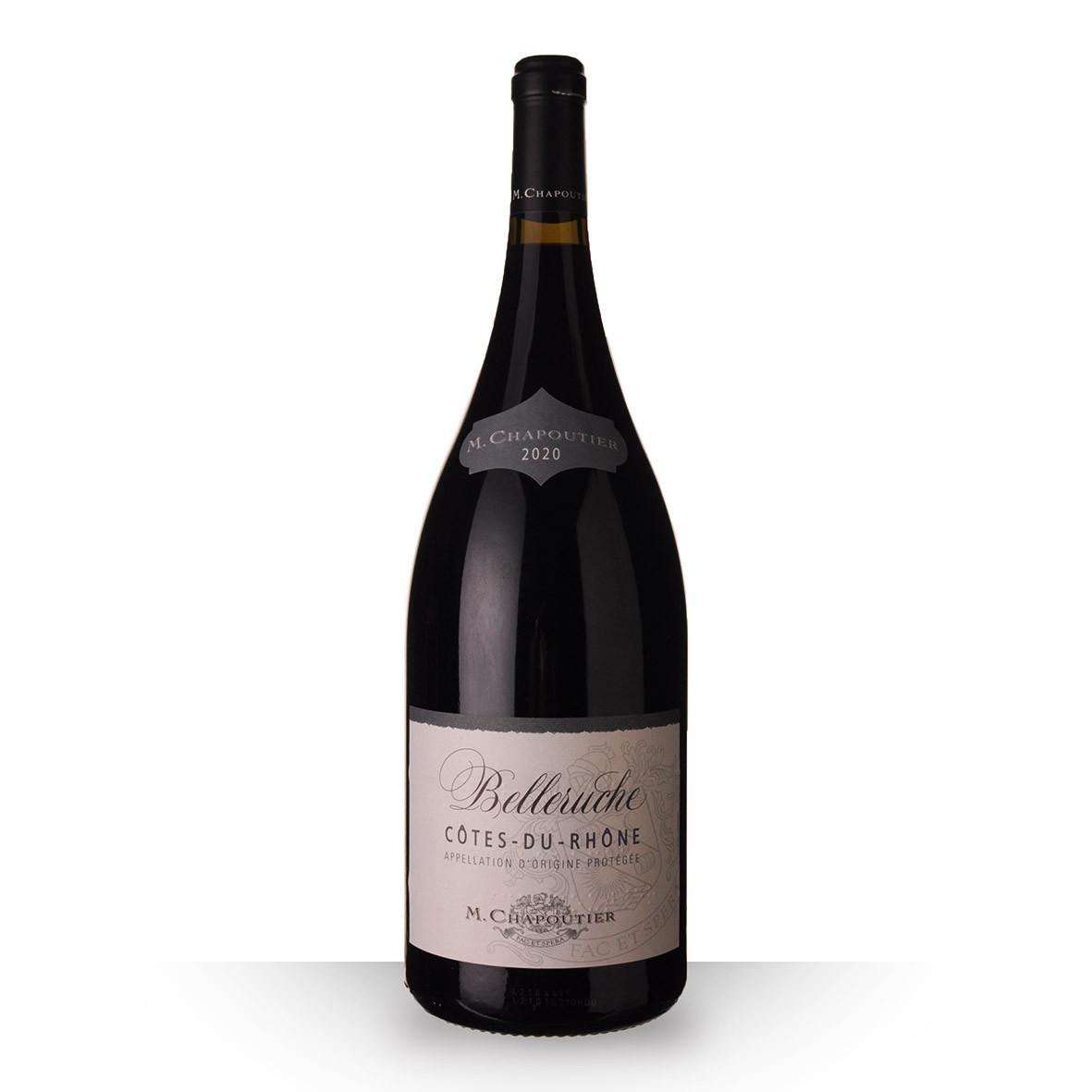 Chapoutier Belleruche Côtes du Rhône Rouge 2020 150cl www.odyssee-vins.com