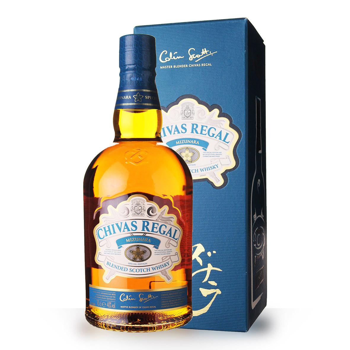 Whisky Chivas Regal Mizunara 70cl Coffret www.odyssee-vins.com