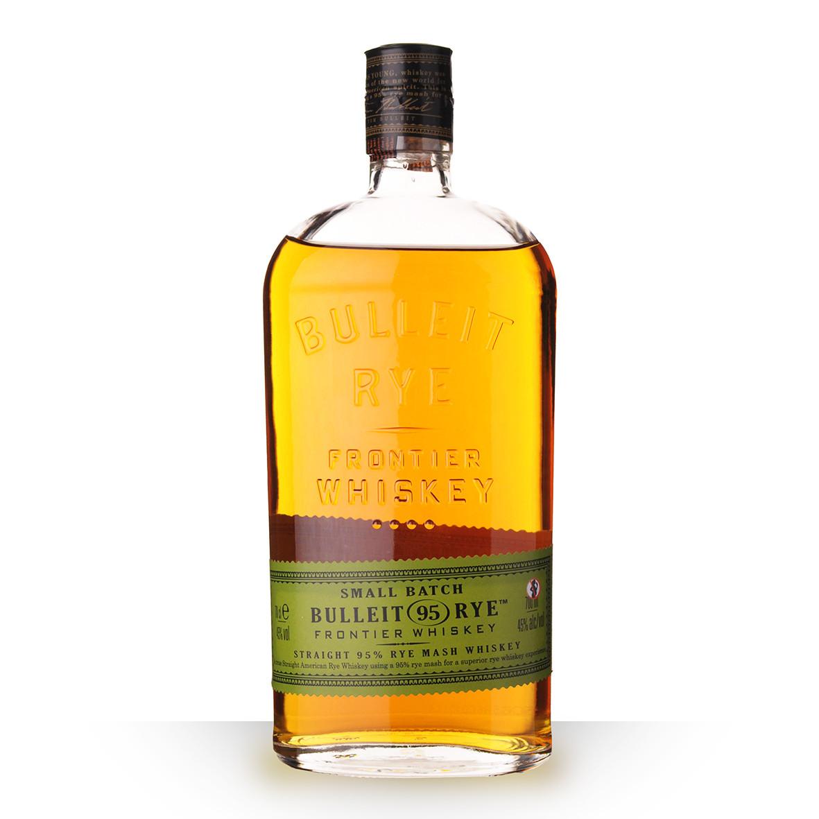 Whisky Bulleit Rye 70cl www.odyssee-vins.com