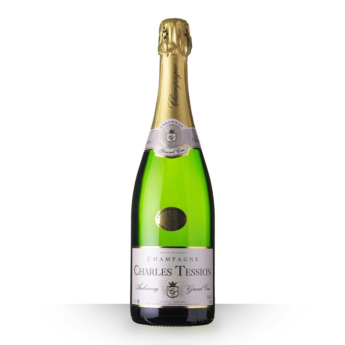 Champagne Charles Tession Brut 75cl Grand Cru www.odyssee-vins.com