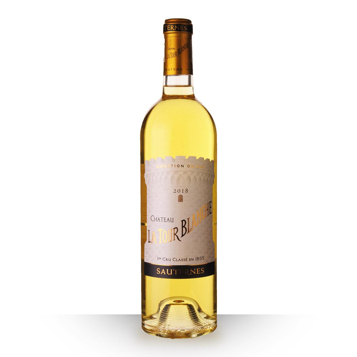 Château la Tour Blanche Sauternes Blanc 2018 75cl www.odyssee-vins.com
