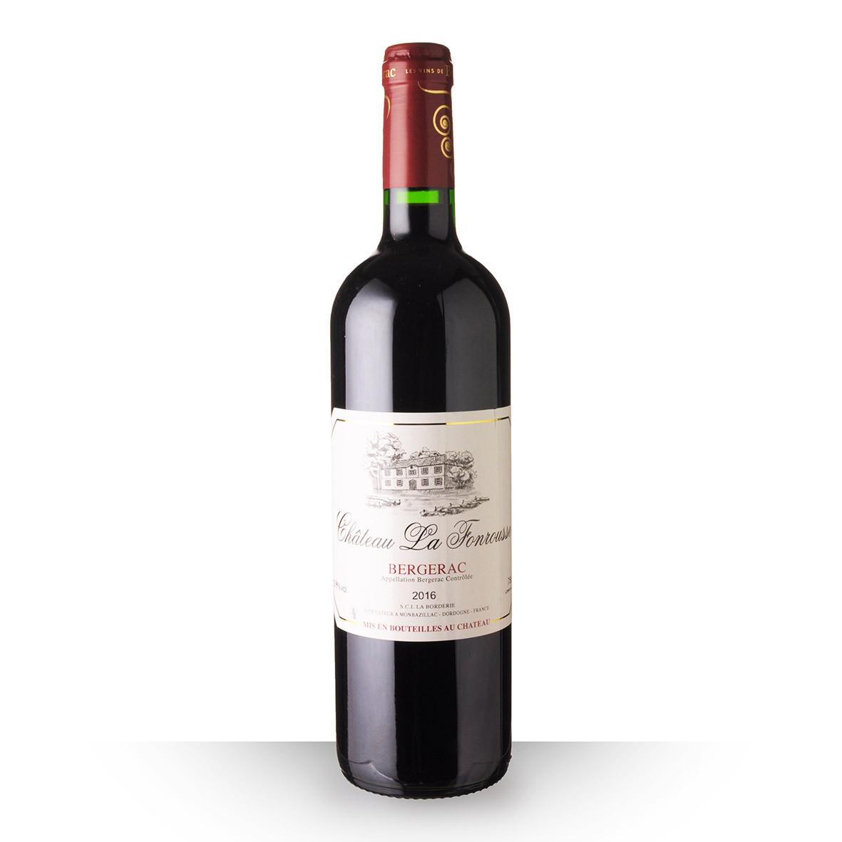 Château la Fonrousse Bergerac Rouge 2016 75cl www.odyssee-vins.com