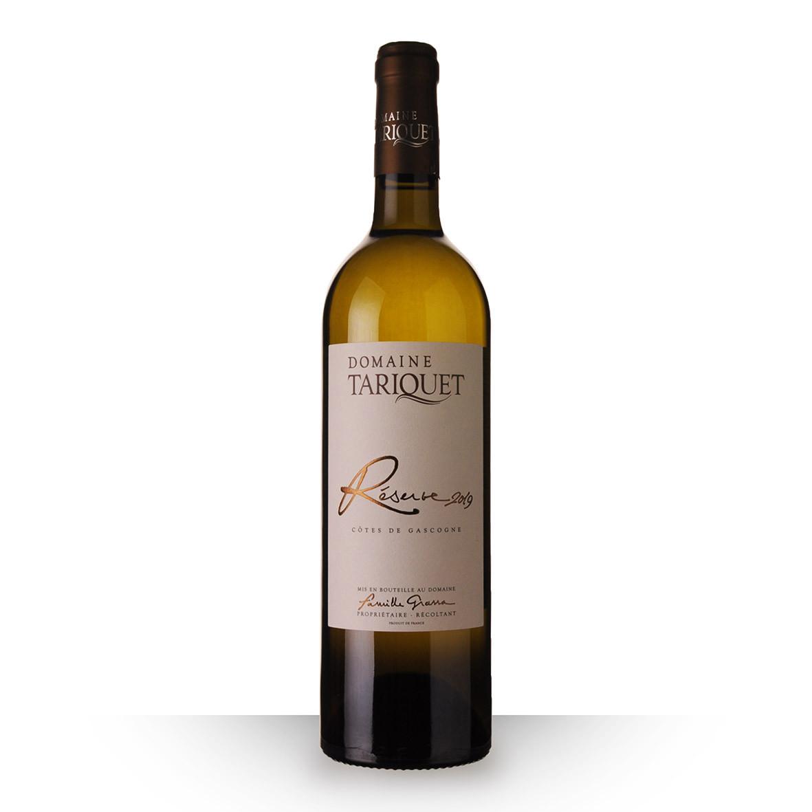 Domaine du Tariquet Réserve Blanc 2019 75cl www.odyssee-vins.com