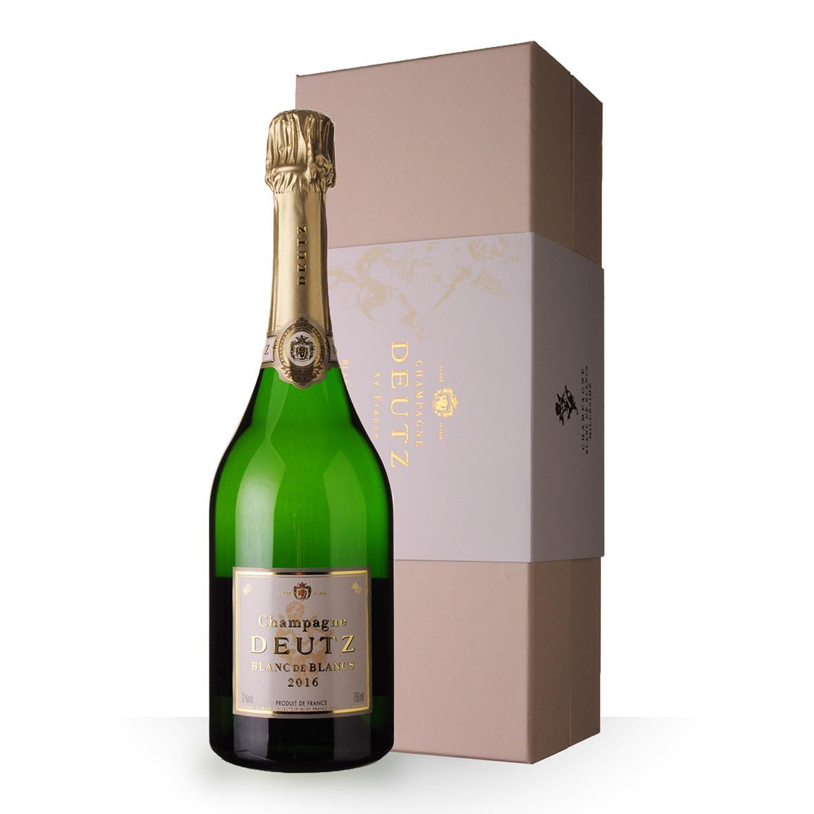 Champagne Deutz Blanc de Blancs 2016 75cl Coffret www.odyssee-vins.com