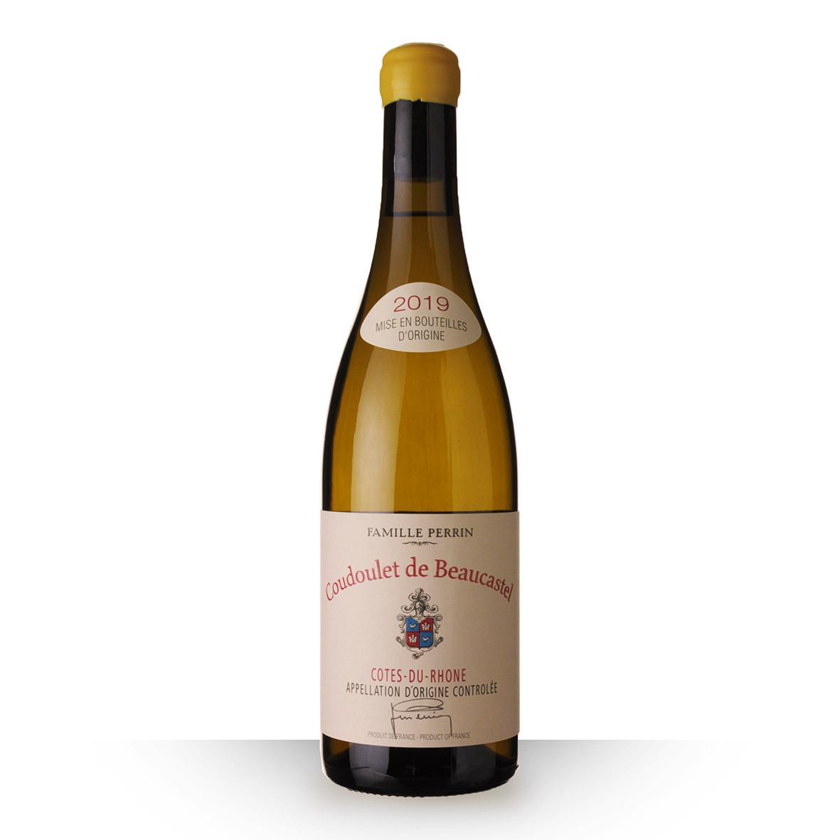 Coudoulet de Beaucastel Côtes du Rhône Blanc 2019 75cl www.odyssee-vins.com