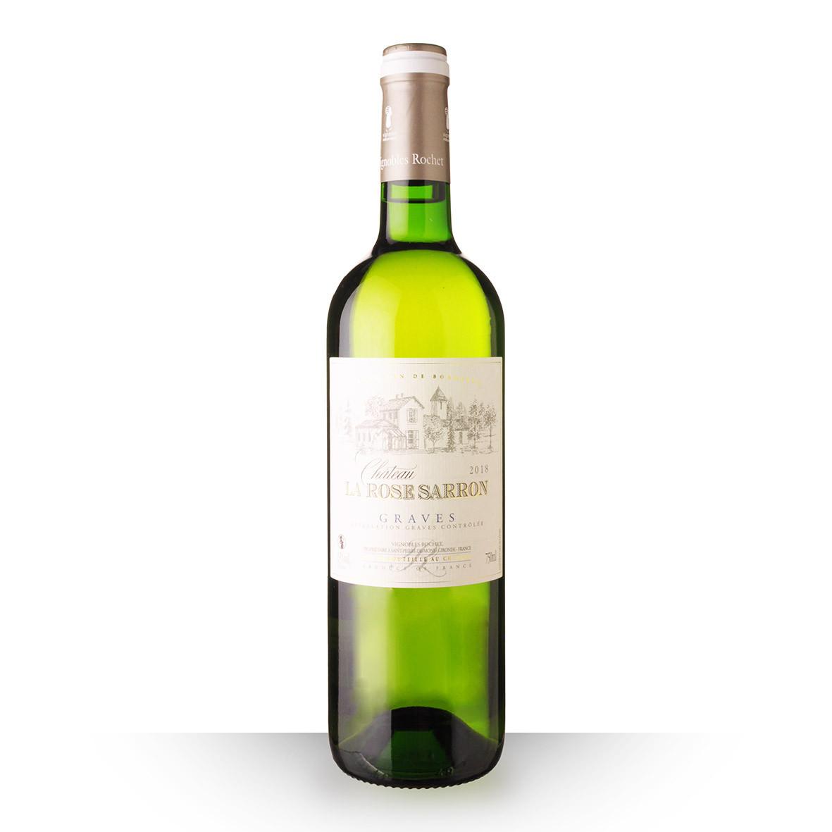 Château la Rose Sarron Graves Blanc 2018 75cl www.odyssee-vins.com