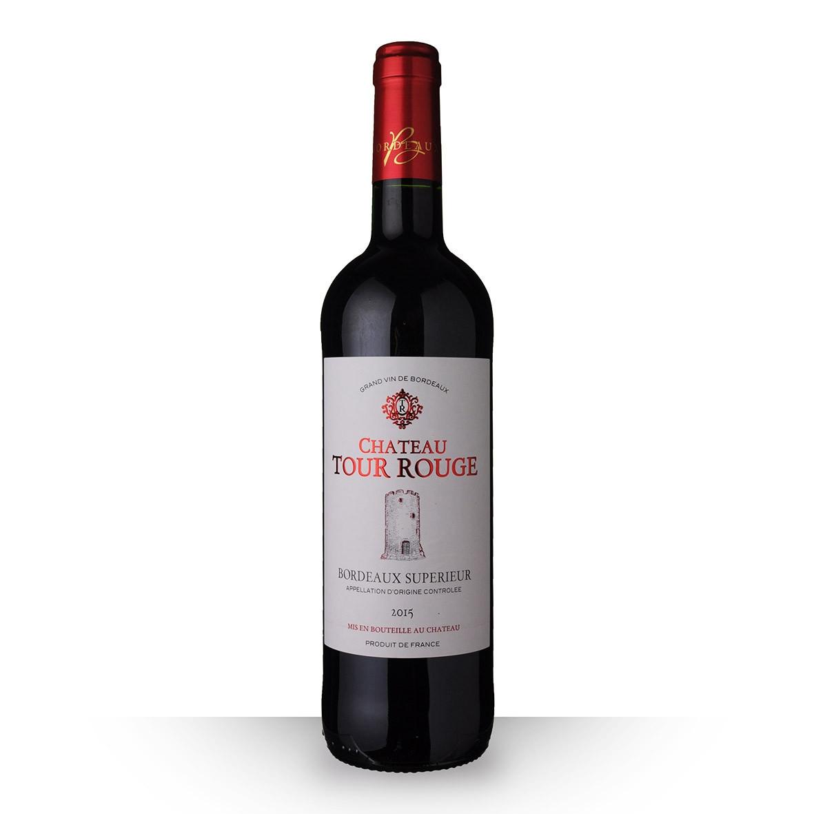 Château Tour Rouge Bordeaux Supérieur Rouge 2015 75cl www.odyssee-vins.com