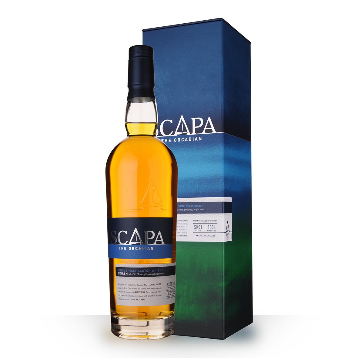 Whisky Scapa Skiren 70cl Coffret www.odyssee-vins.com
