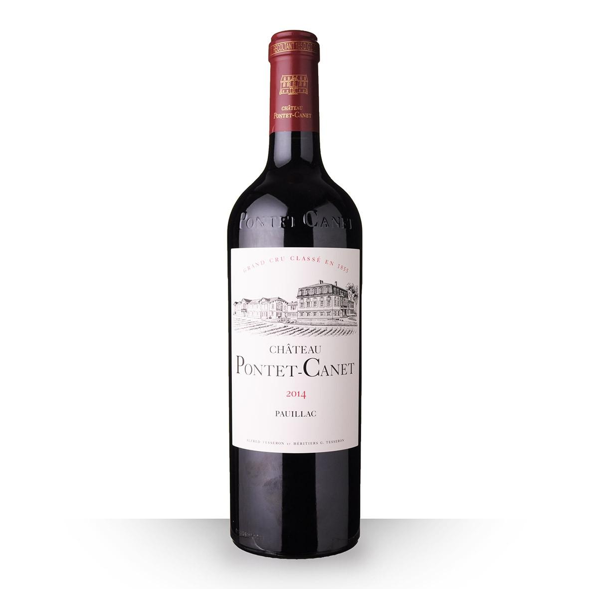 Château Pontet-Canet Pauillac Rouge 2014 75cl www.odyssee-vins.com