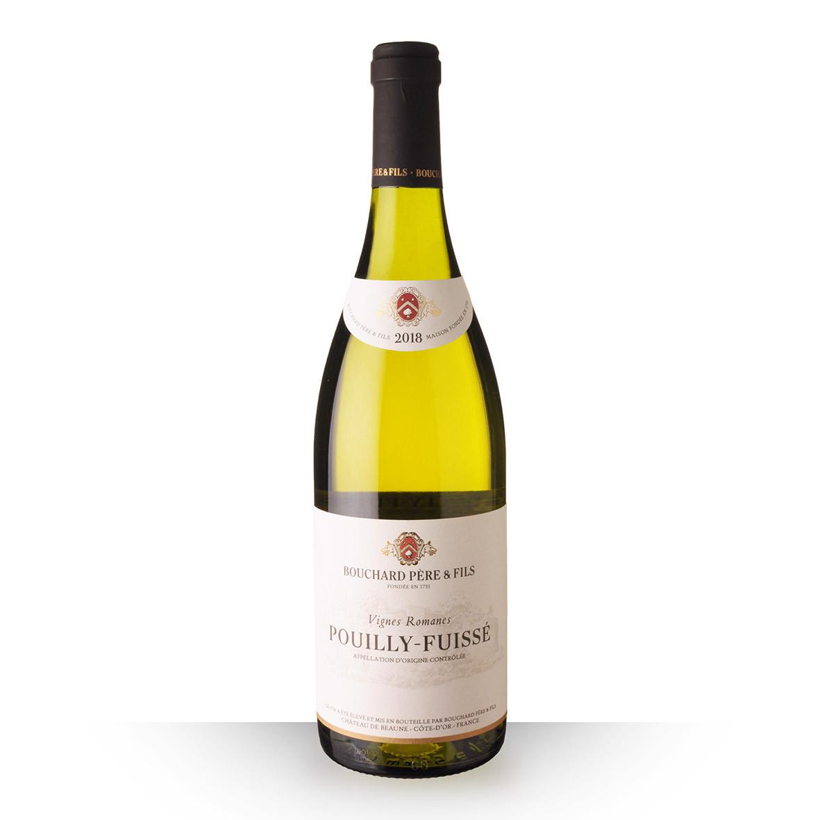 Bouchard Père et Fils Vignes Romanes Pouilly-Fuissé Blanc 2018 75cl www.odyssee-vins.com