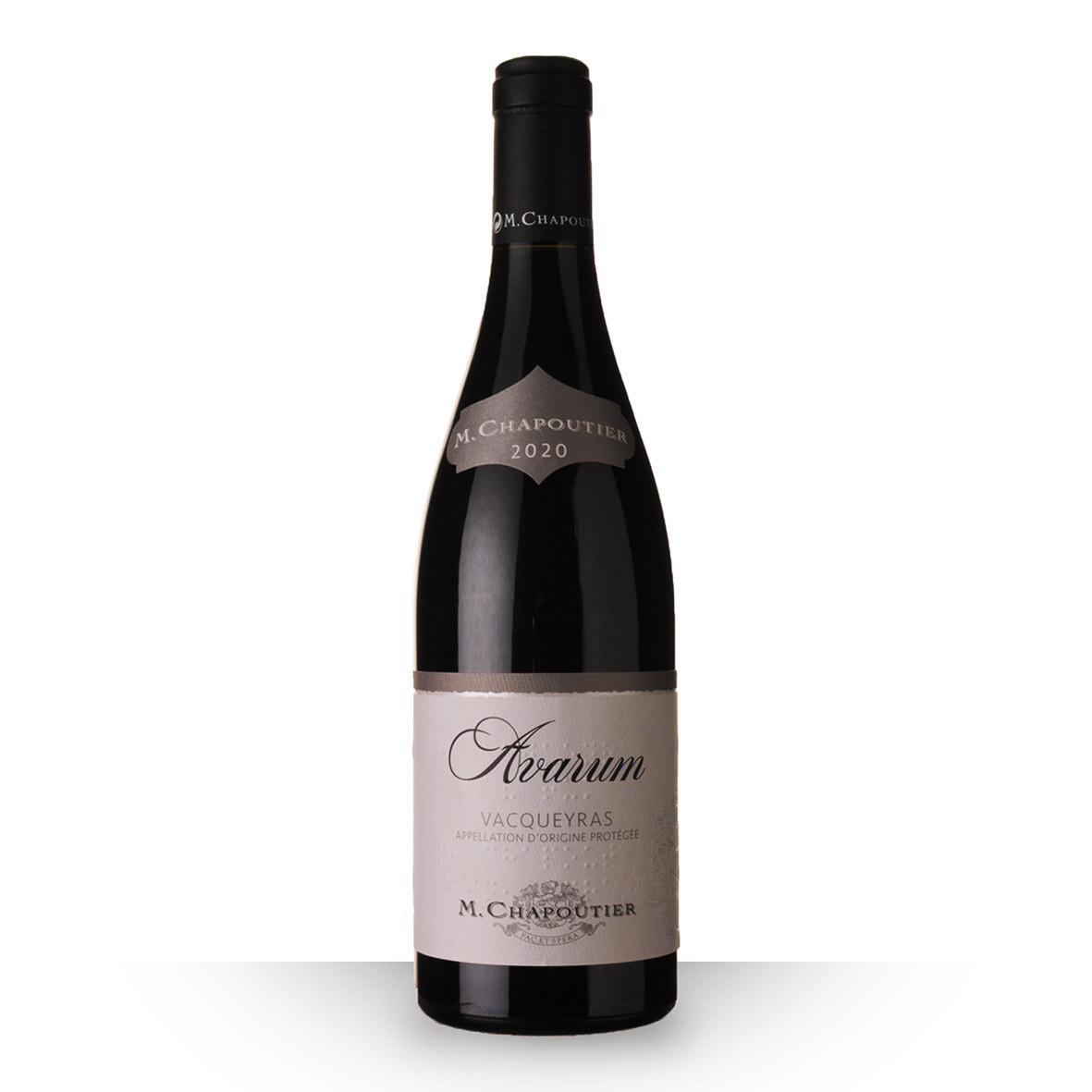 Chapoutier Avarum Vacqueyras Rouge 2020 75cl www.odyssee-vins.com