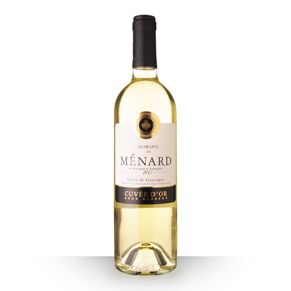 Domaine de Ménard Cuvée dOr Côtes de Gascogne Blanc 2017 75cl www.odyssee-vins.com