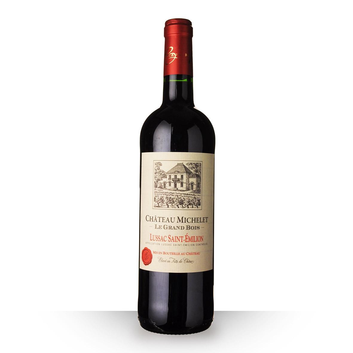 Château Michelet le Grand Bois Lussac-Saint-Emilion Rouge 2016 75cl www.odyssee-vins.com
