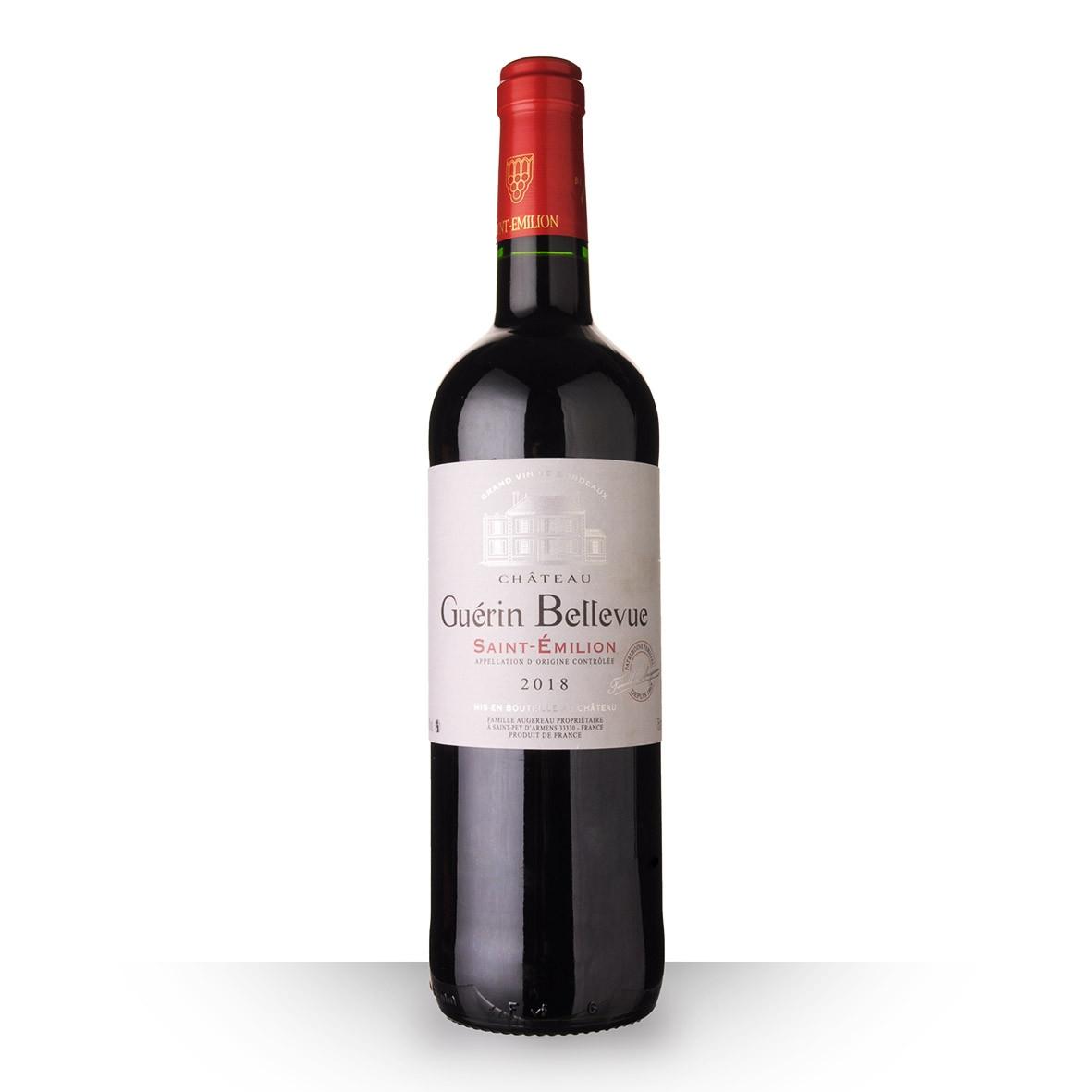 Château Guérin Bellevue Saint-Emilion Rouge 2018 75cl www.odyssee-vins.com
