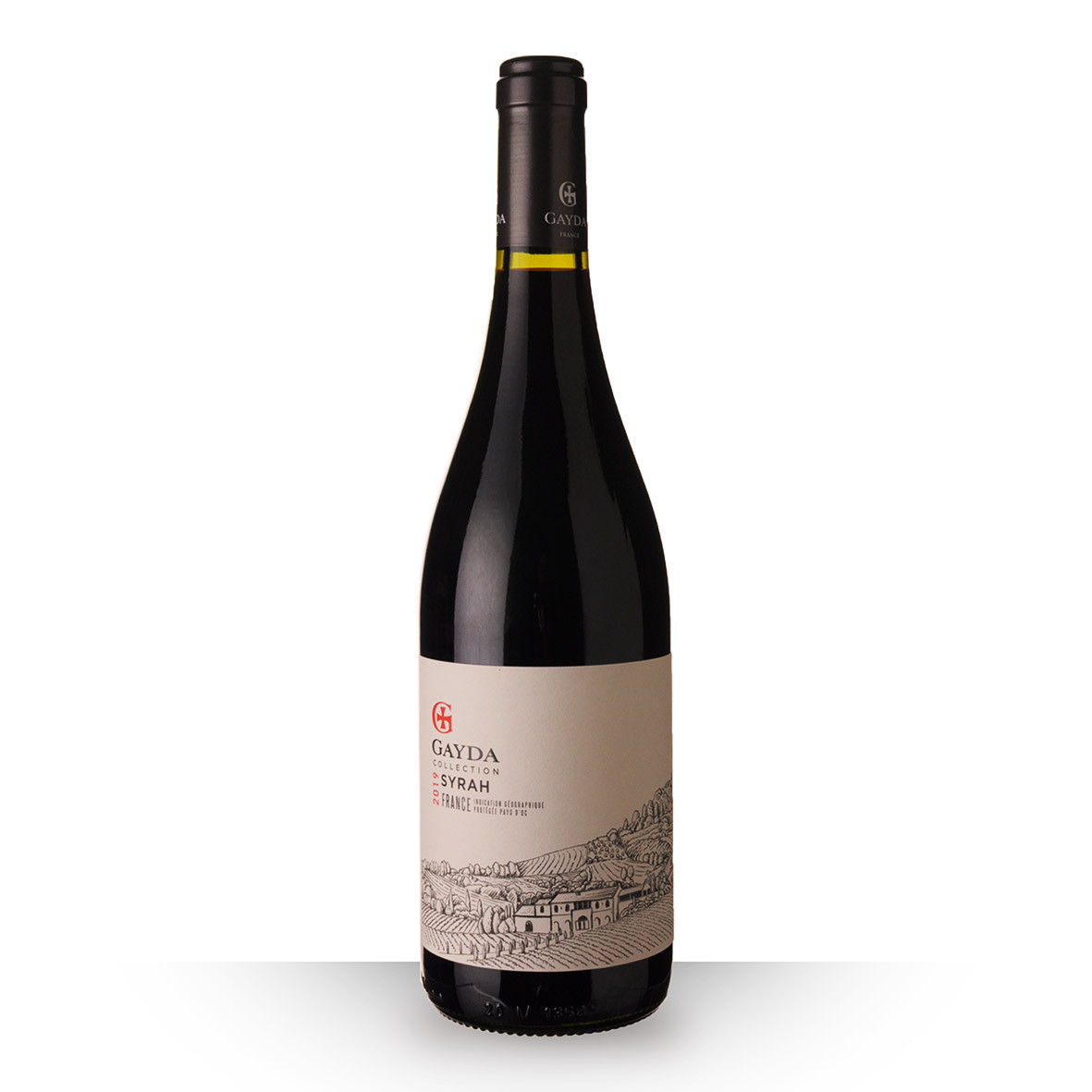 Domaine de Gayda Collection Syrah Pays dOc Rouge 2019 75cl www.odyssee-vins.com