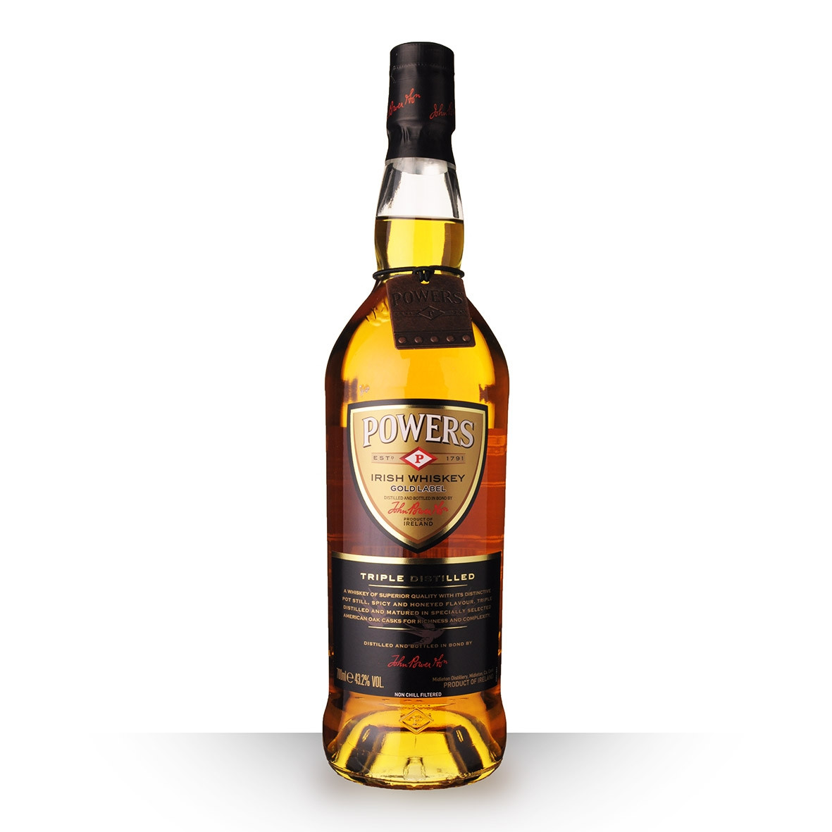 Whisky Powers Triple Distilled 70cl www.odyssee-vins.com
