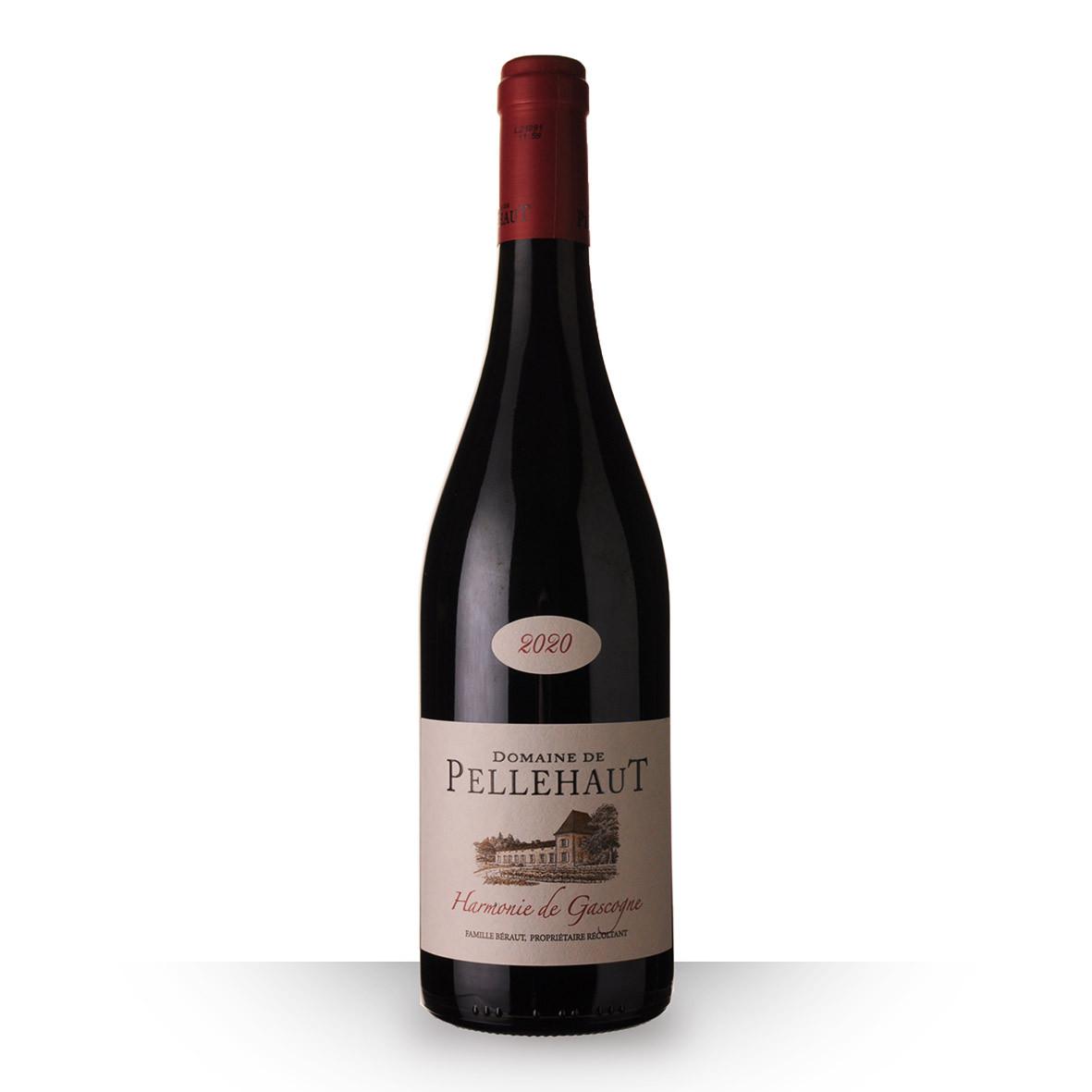 Domaine de Pellehaut Harmonie Côtes de Gascogne Rouge 2020 75cl www.odyssee-vins.com
