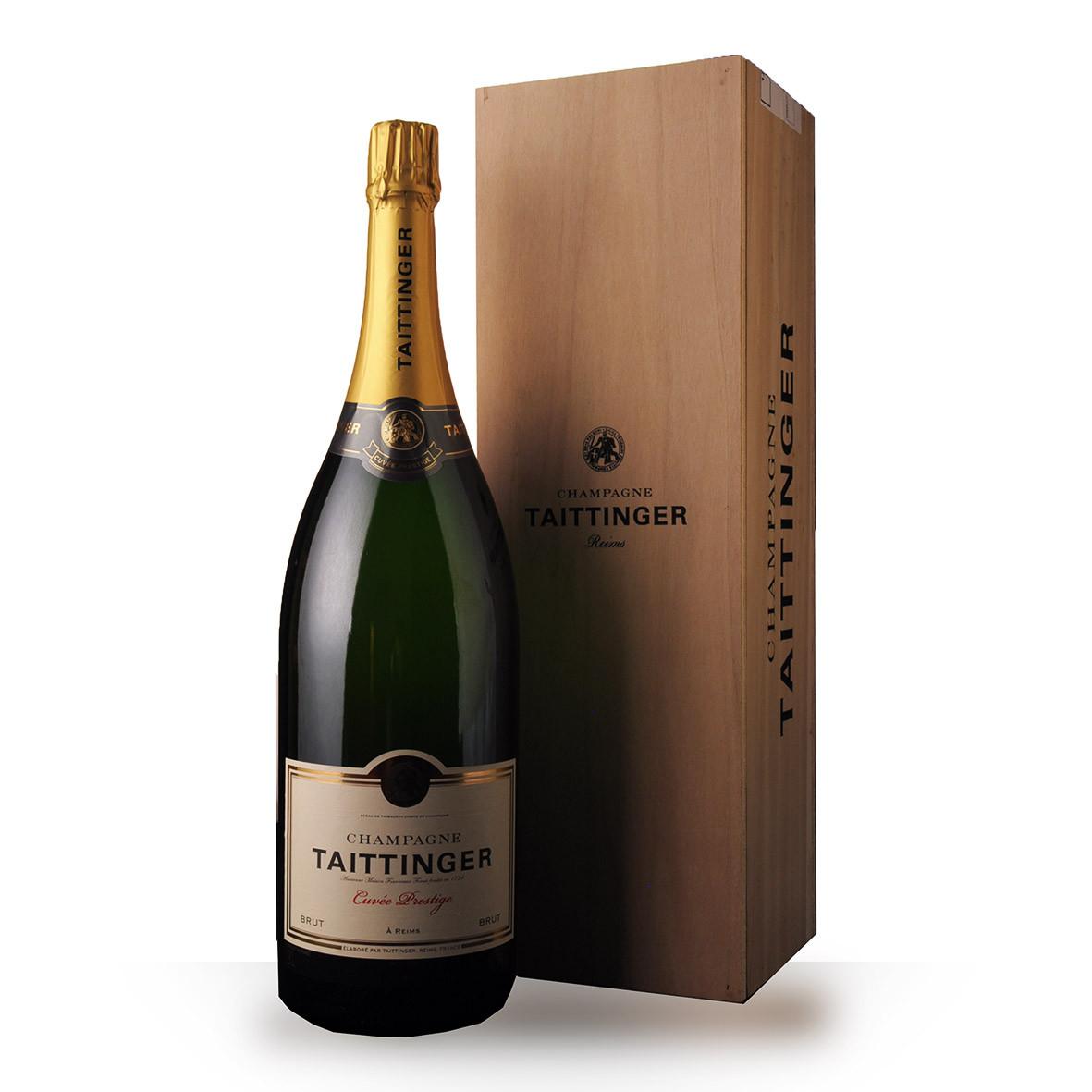 Champagne Taittinger Brut Réserve 300cl Caisse www.odyssee-vins.com
