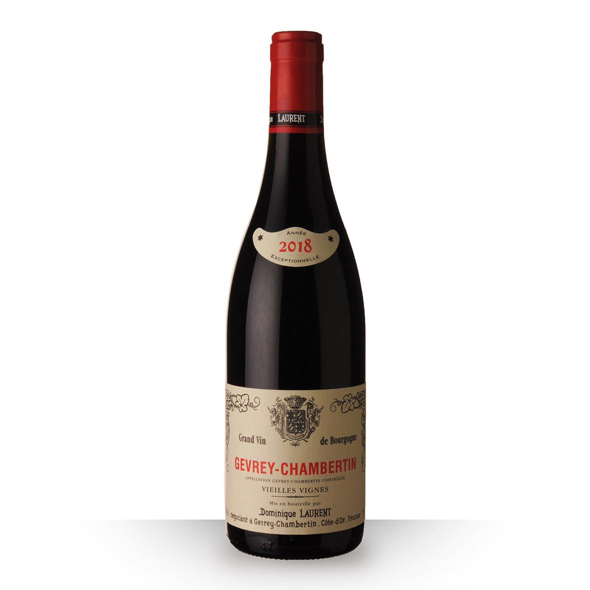 Dominique Laurent Vieilles Vignes Gevrey-Chambertin Rouge 2018 75cl www.odyssee-vins.com