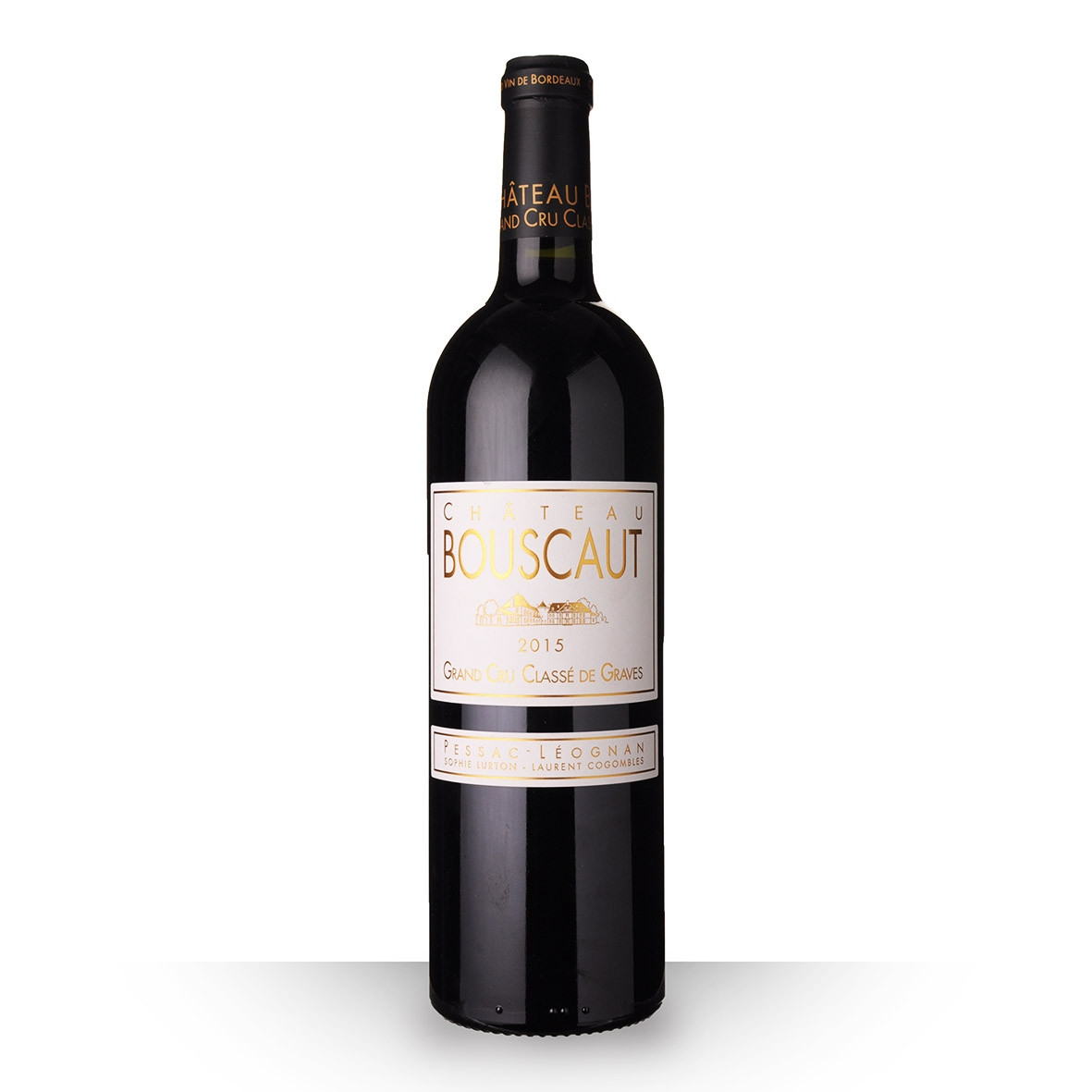 Château Bouscaut Pessac-Léognan Rouge 2015 75cl www.odyssee-vins.com