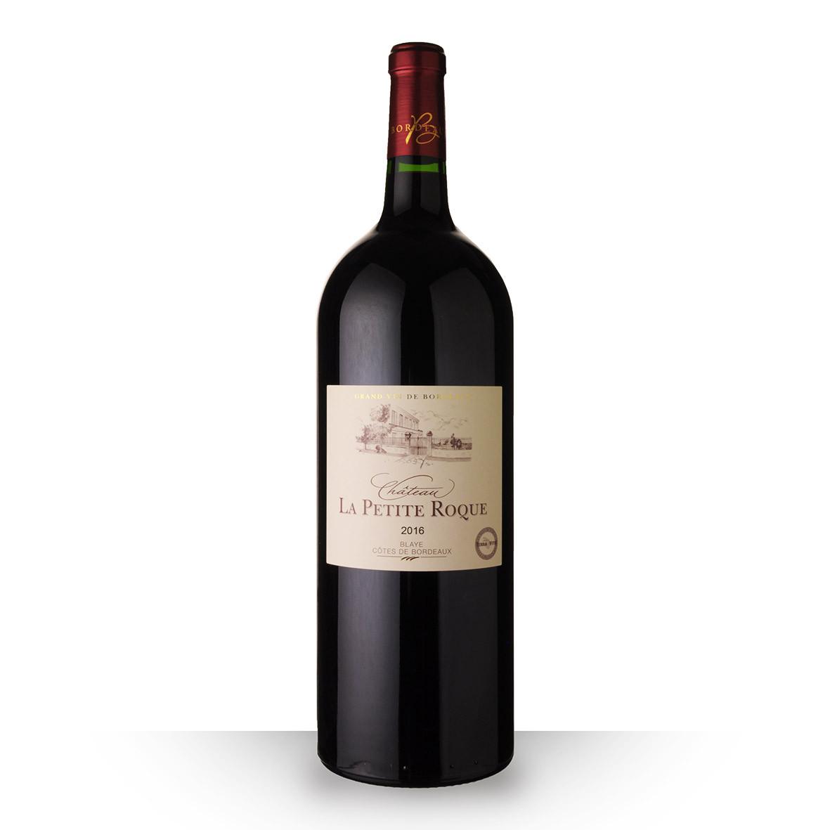 Château la Petite Roque Côtes de Bordeaux Blaye Rouge 2016 150cl www.odyssee-vins.com