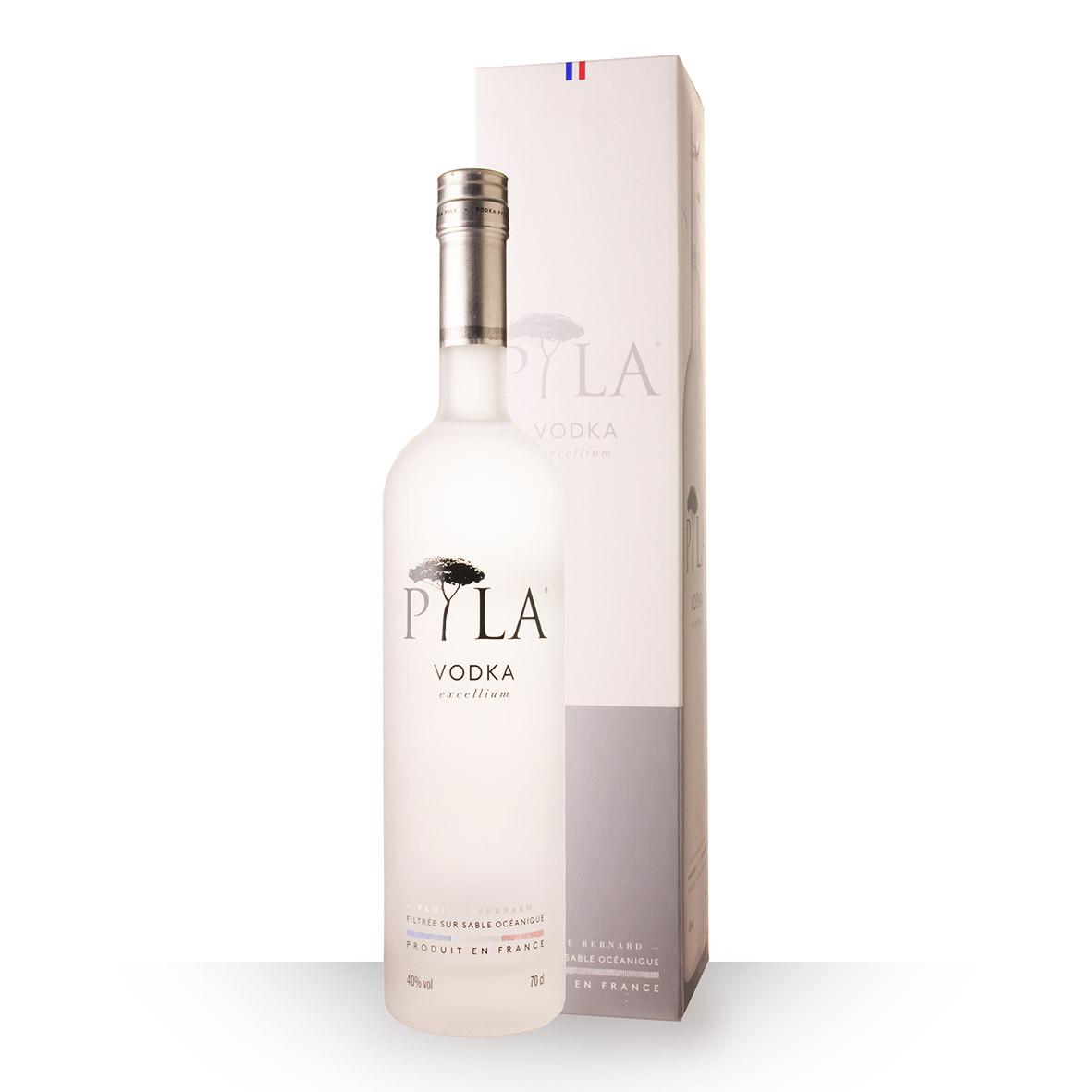 Vodka Pyla 70cl Coffret www.odyssee-vins.com