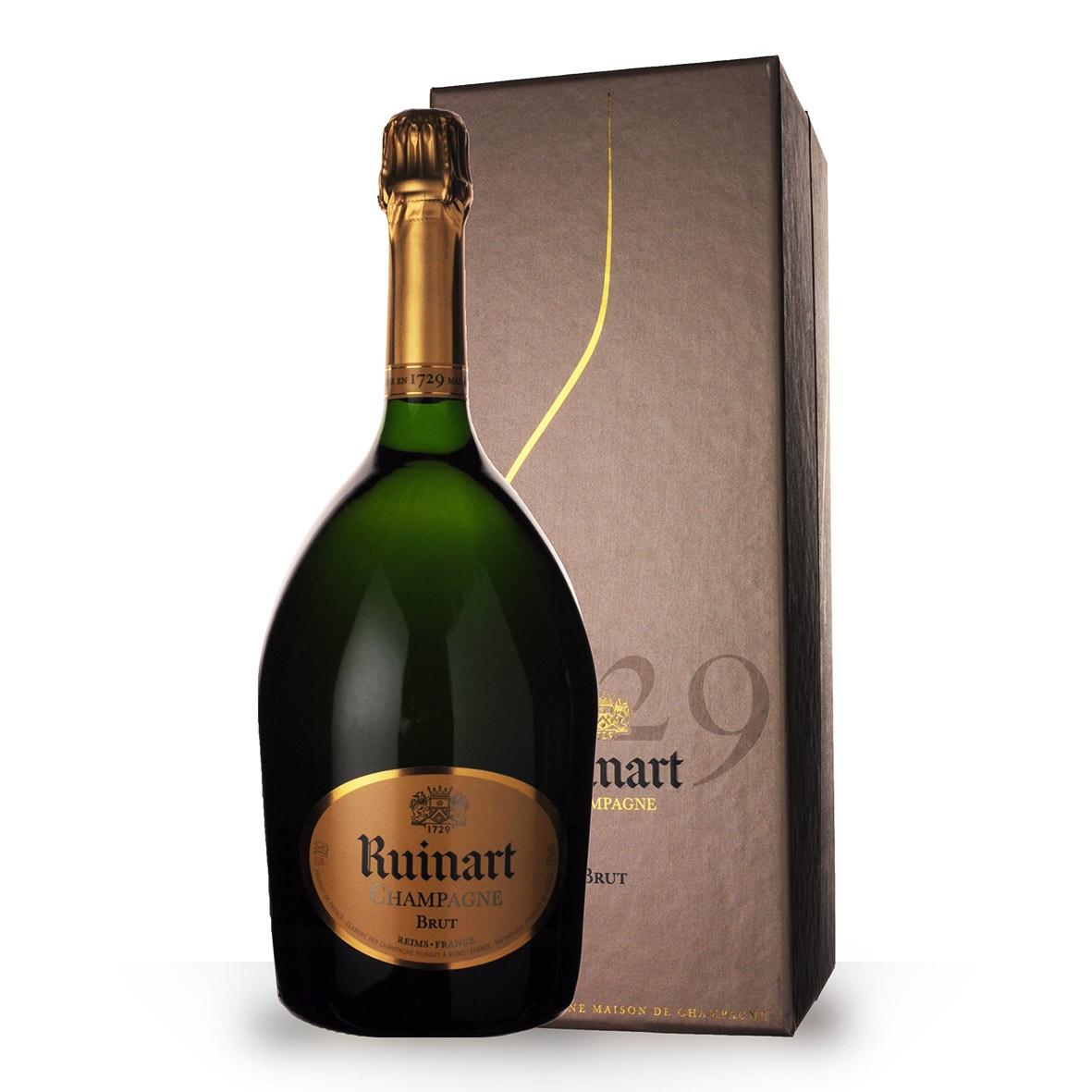 Champagne R de Ruinart Brut 150cl Coffret www.odyssee-vins.com