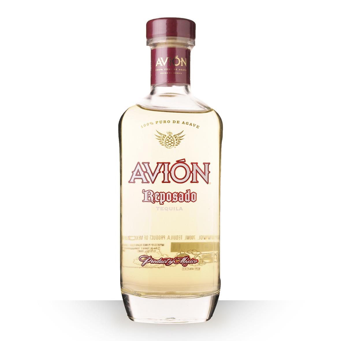 Tequila Avión Reposado 70cl www.odyssee-vins.com