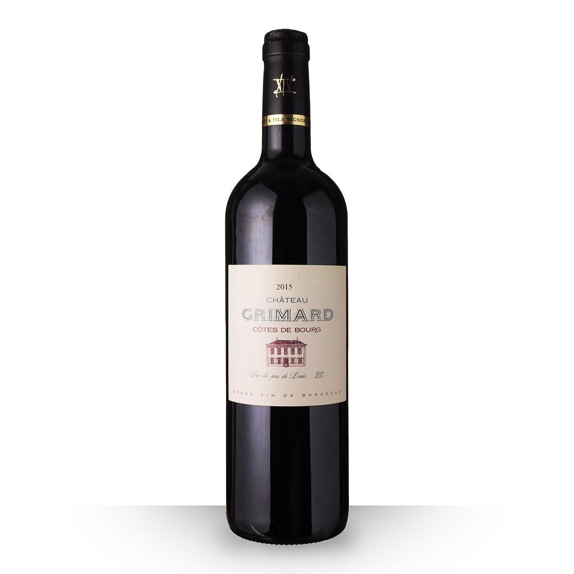 Château Grimard Côtes de Bourg Rouge 2015 75cl www.odyssee-vins.com