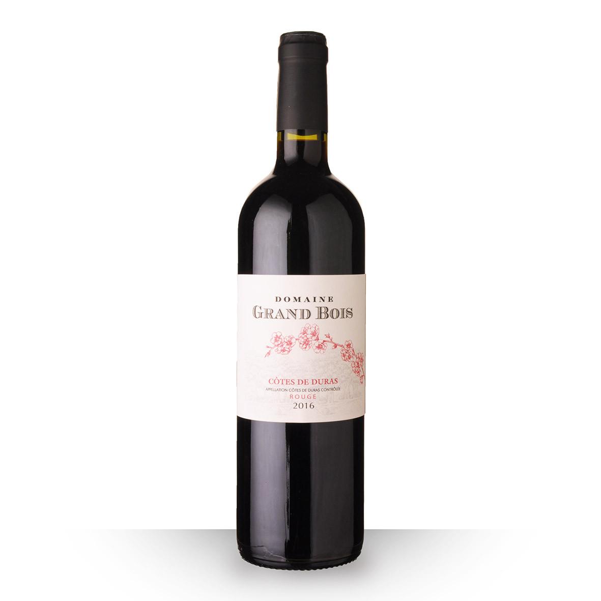 Domaine Grand Bois Côtes de Duras Rouge 2016 75cl www.odyssee-vins.com