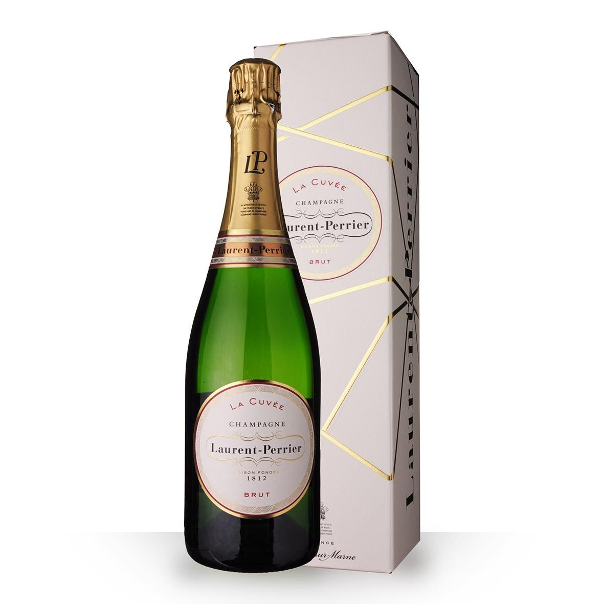 Champagne Laurent-Perrier La Cuvée 75cl Etui www.odyssee-vins.com