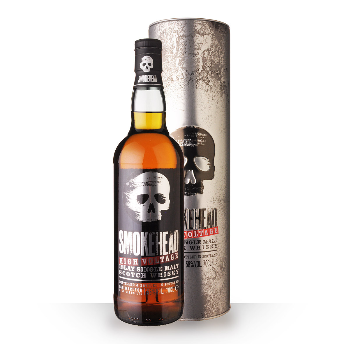 Whisky Smokehead High Voltage 70cl Coffret www.odyssee-vins.com