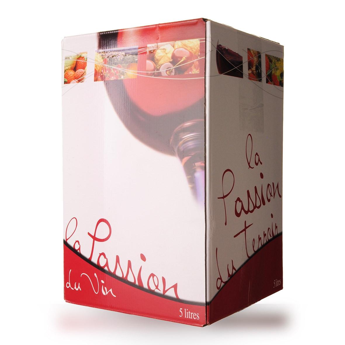Bag-In-Box 5L Domaine de Lescure Comté Tolosan Rouge www.odyssee-vins.com