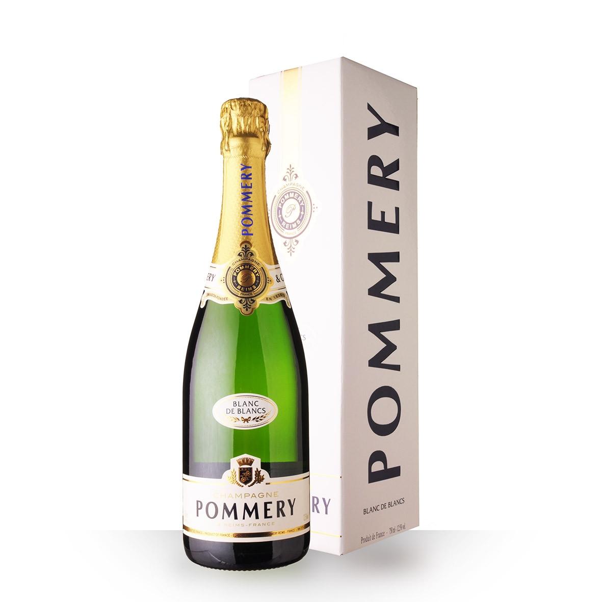 Champagne Pommery Apanage Blanc de Blanc 75cl Etui www.odyssee-vins.com