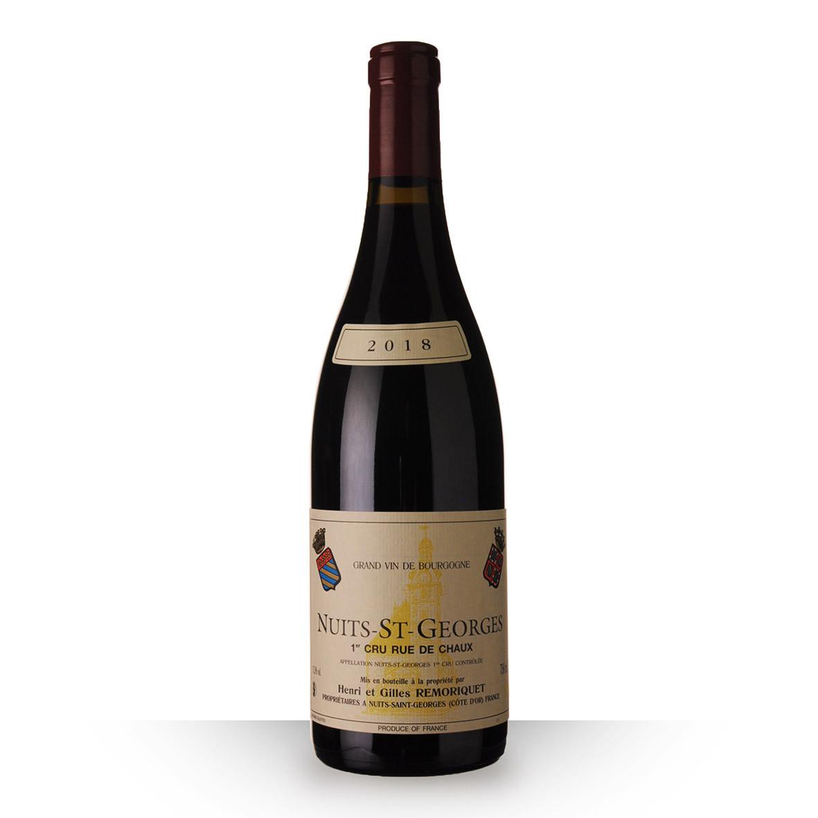 Domaine Remoriquet Nuits-Saint-Georges 1er Cru Rue de Chaux Rouge 2018 75cl www.odyssee-vins.com