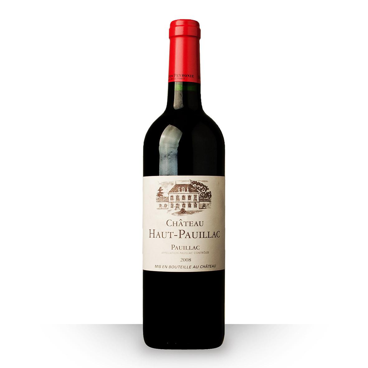 Château Haut Pauillac Pauillac Rouge 2008 75cl www.odyssee-vins.com