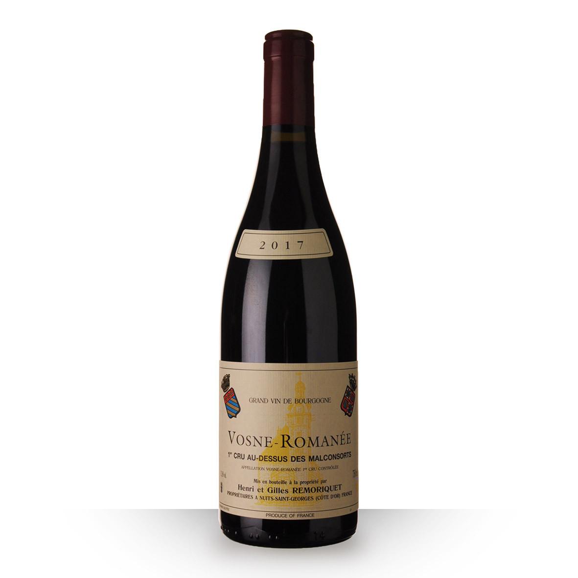 Domaine Remoriquet Vosne-Romanée 1er Cru Au Dessus des Malconsorts Rouge 2017 75cl www.odyssee-vins.com