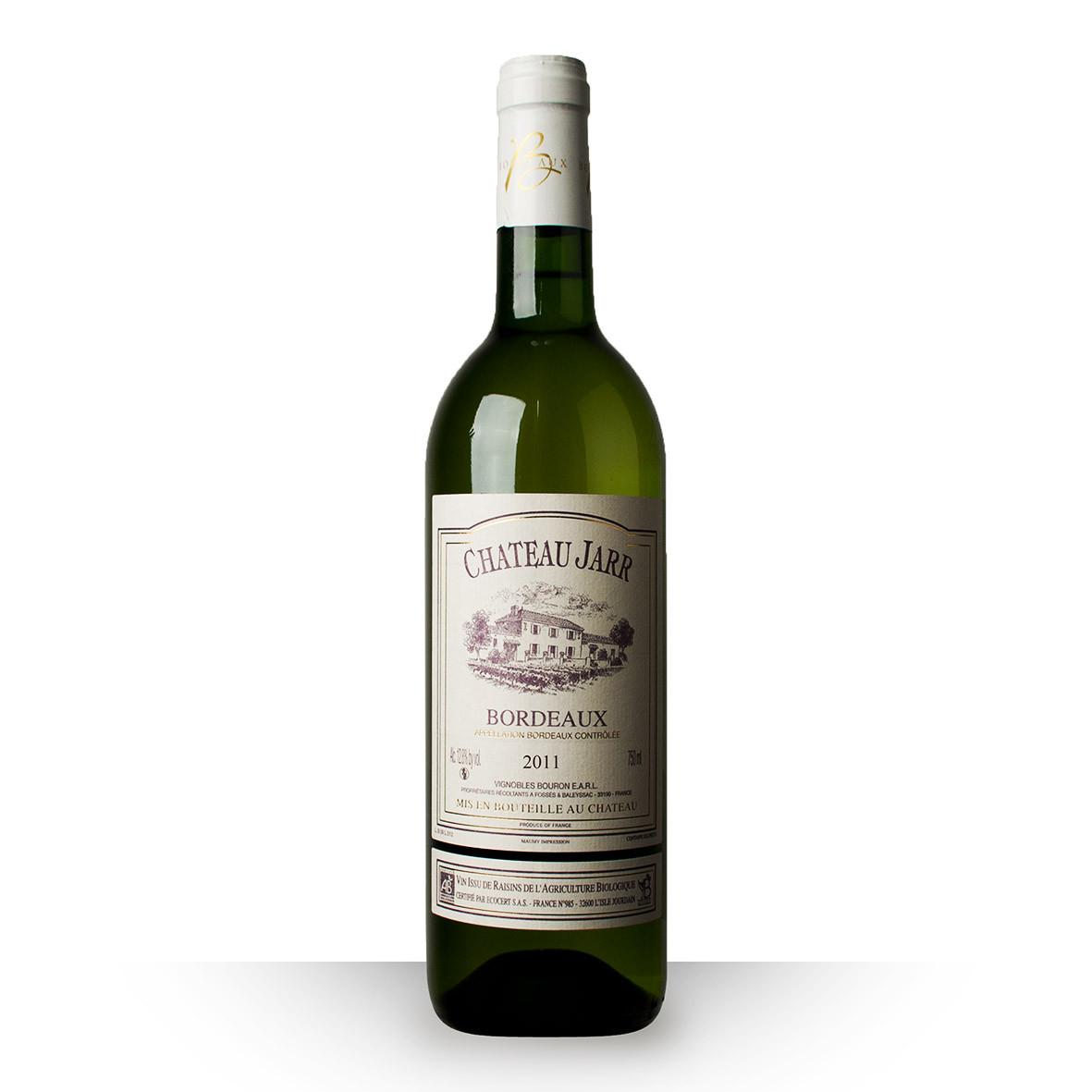 Château Jarr Bordeaux Blanc 2011 75cl www.odyssee-vins.com