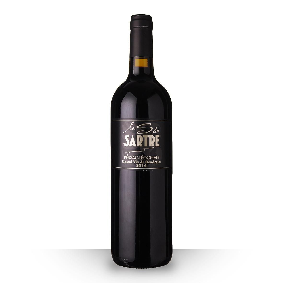 Le S du Sartre Pessac-Léognan Rouge 2014 75cl www.odyssee-vins.com