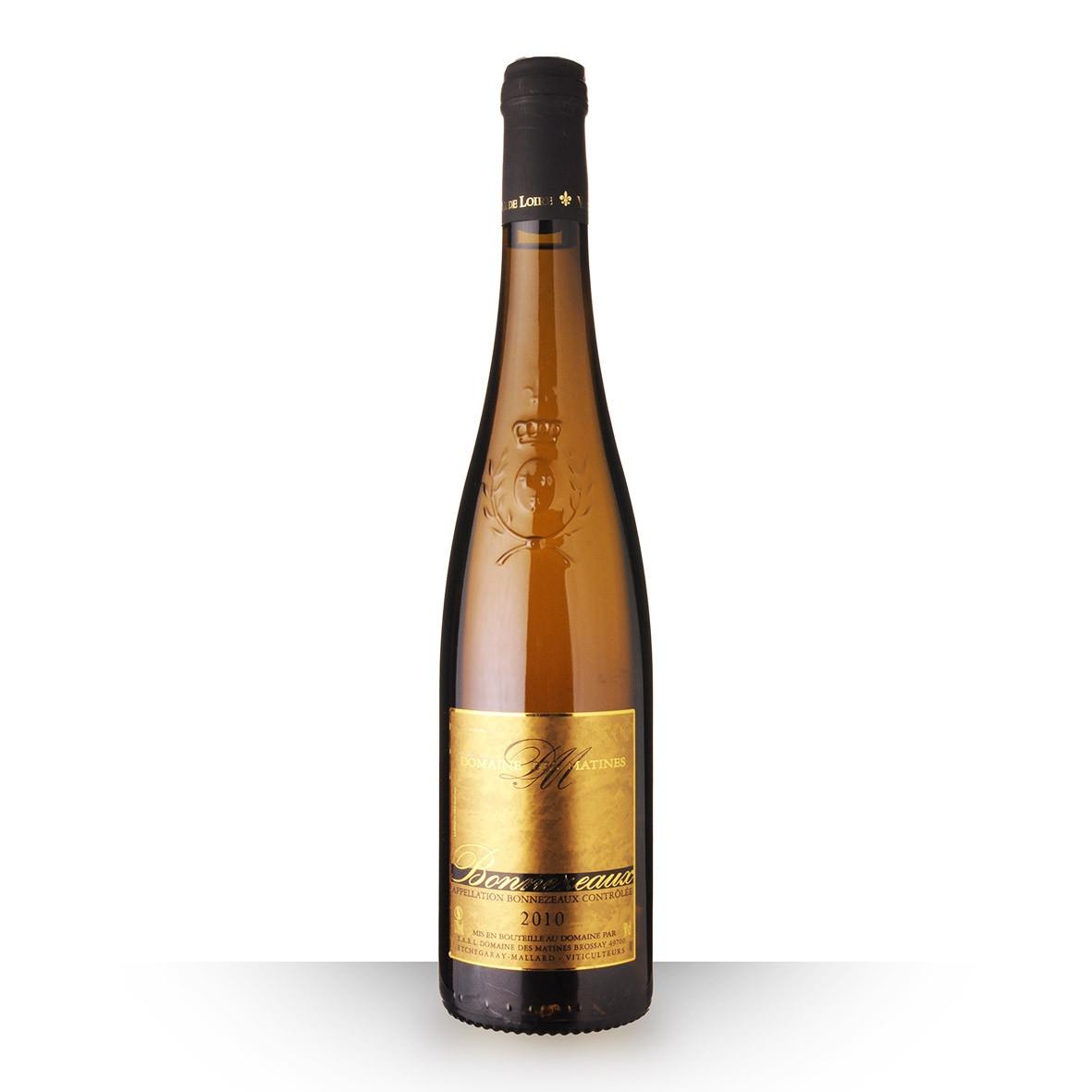 Domaine des Matines Bonnezeaux Blanc 2010 50cl www.odyssee-vins.com