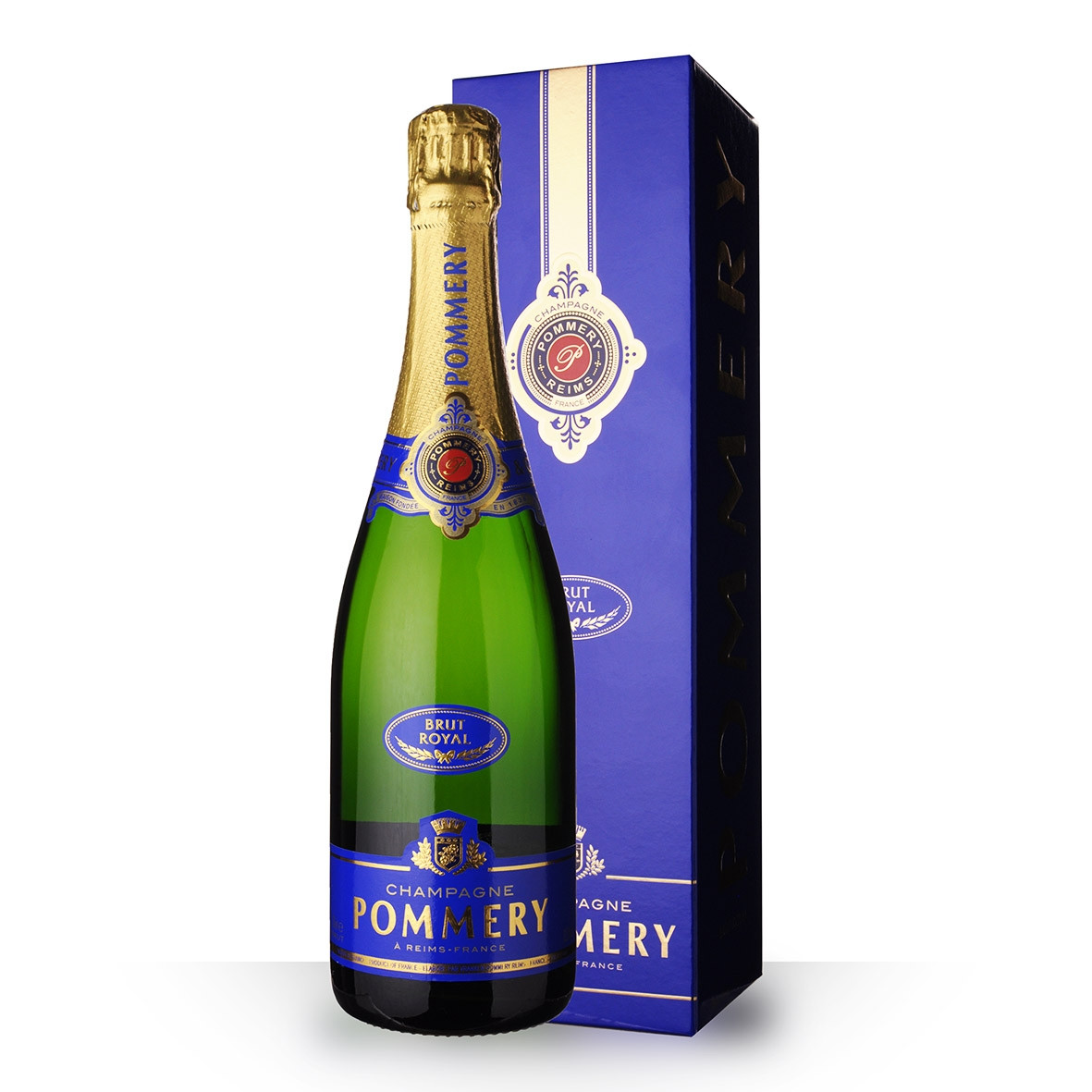 Champagne Pommery Brut Royal 75cl Etui www.odyssee-vins.com