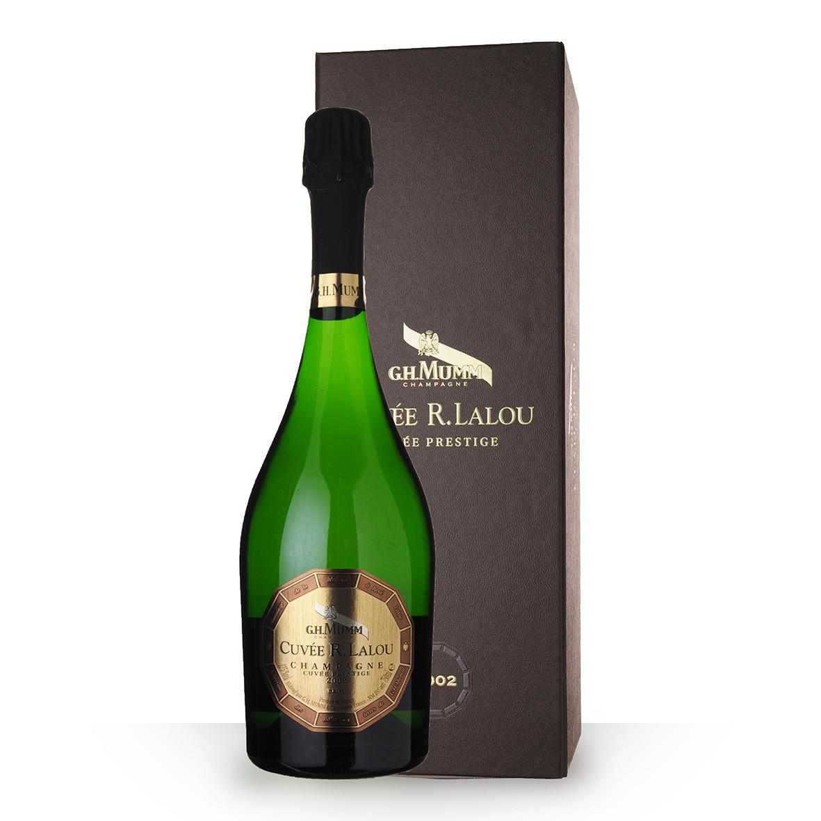 Champagne Mumm Cuvée R.Lalou 2002 Brut 75cl Coffret www.odyssee-vins.com