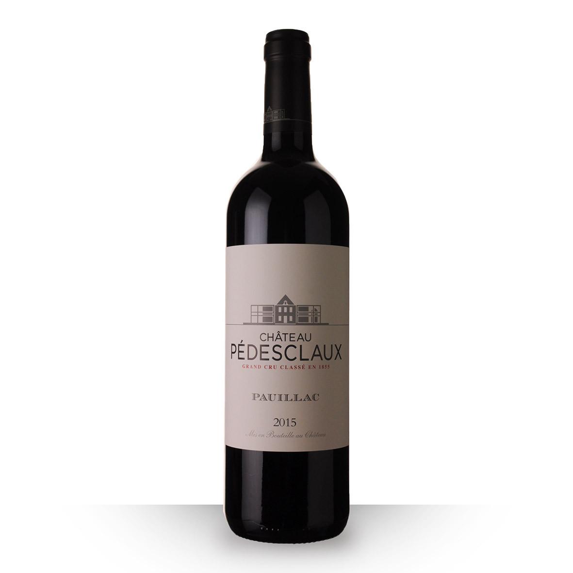 Château Pedesclaux Pauillac Rouge 2015 75cl www.odyssee-vins.com