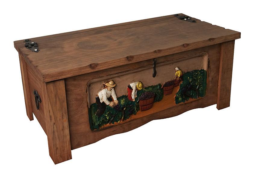 Malle Sculptée Vendanges 6x75cl www.odyssee-vins.com