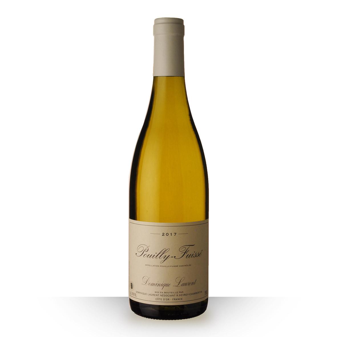 Dominique Laurent Pouilly-Fuissé Blanc 2017 75cl www.odyssee-vins.com