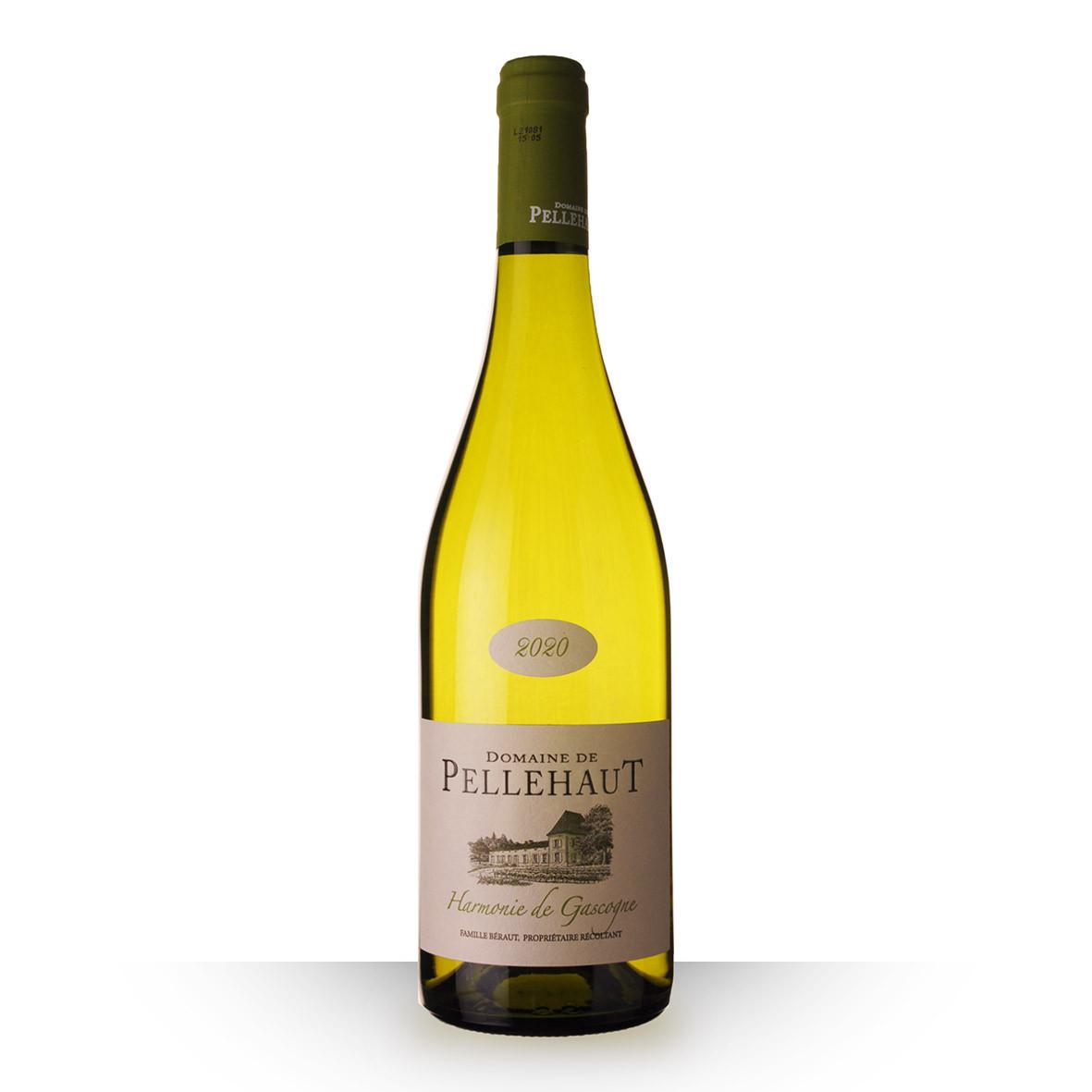 Domaine de Pellehaut Harmonie Côtes de Gascogne Blanc 2020 75cl www.odyssee-vins.com